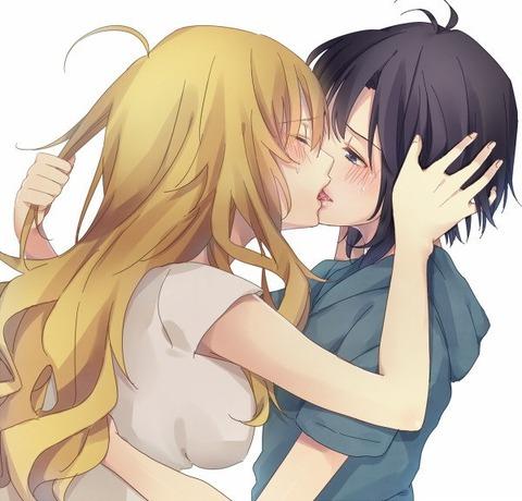 【同性愛】美少女が純愛してる百合画像