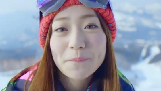 【画像・動画】 大島優子のアルペンのCMでチューされた
