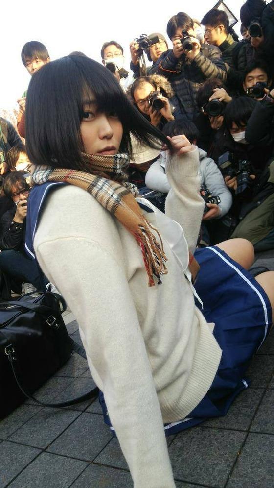 【画像】 女子高生のようなJKコスプレイヤー!本物?