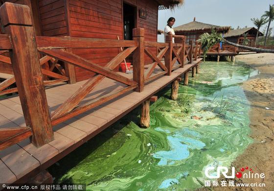 【画像】中国の湖が凄い、これは安全に油絵だ!