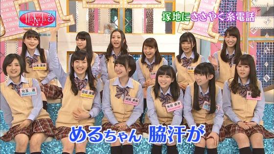 新たなワキ汗アイドル誕生!HKT48 田島芽瑠