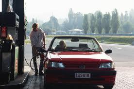 ガソリンスタンドでめんどくさい客