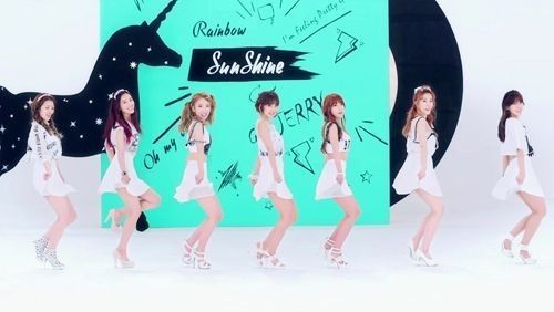 """【韓流】ガールズグループRAINBOWの新曲『Sunshine』、""""浅漬けキムチソング""""と呼ばれ話題"""