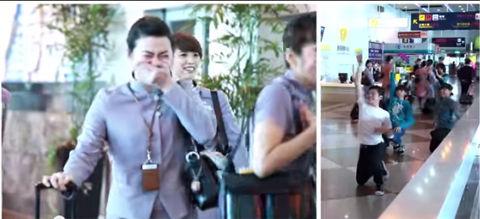 【台湾速報】台湾高雄の空港で行われたプロポーズが素人レベルじゃない件 台湾の反応「感動した!」「お幸せに」「彼氏最高w」