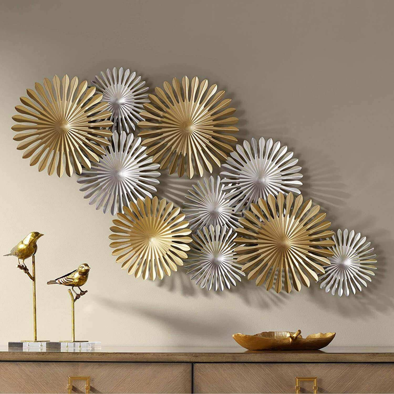Marvelous Metal Wall Art Design And Decoration Live Enhanced