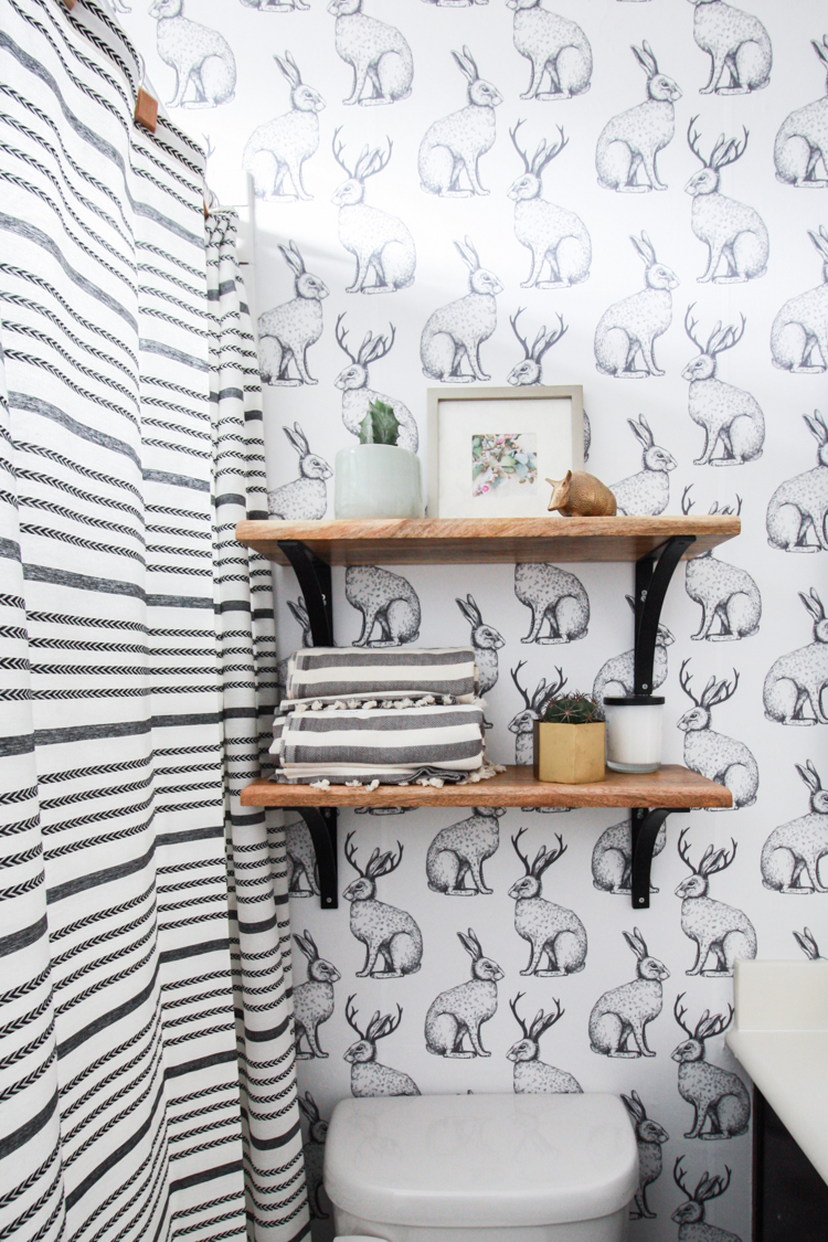 Texture Walls Design Jackalope Wallpaper Bathroom Diy Smooth Textured Walls
