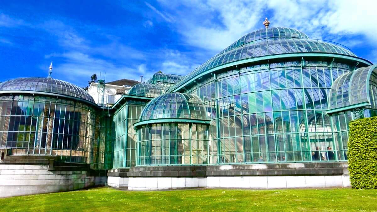 Glas Rubber Serre Visit The Royal Greenhouses Of Laeken 2019 Live In Belgium