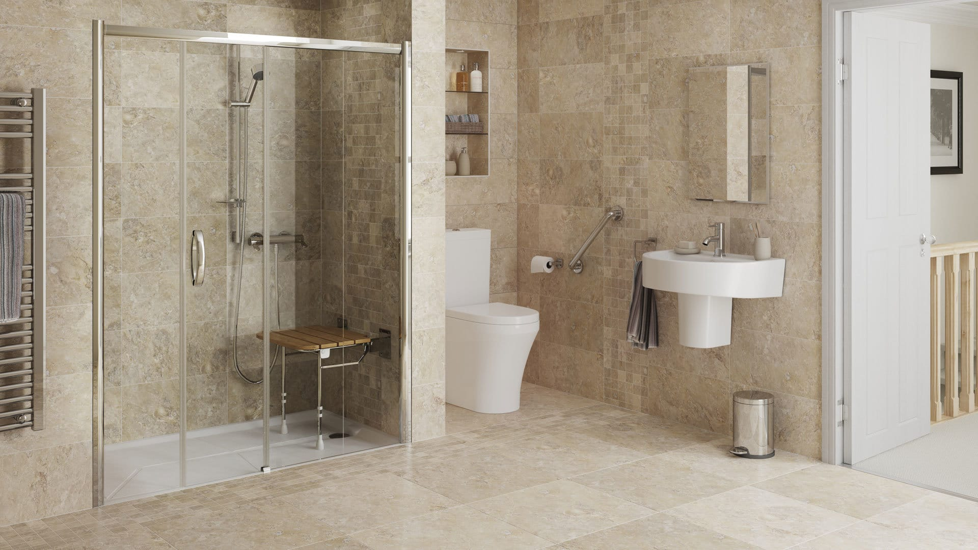Aging In Place Bathroom Design Bathroom Remodeling