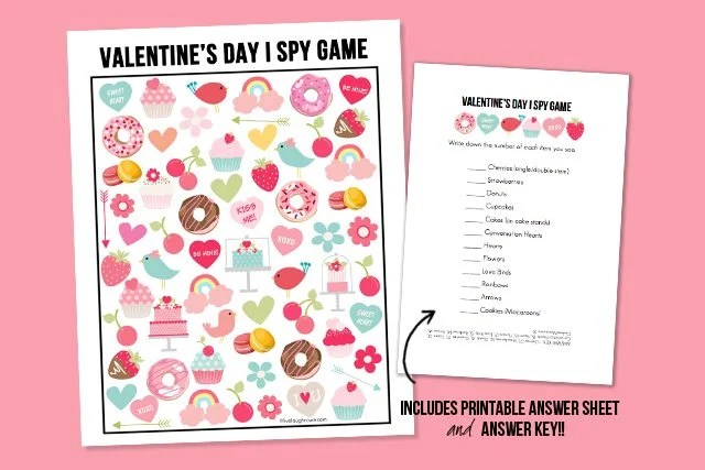 Valentine\u0027s Day I Spy Printable - Live Laugh Rowe