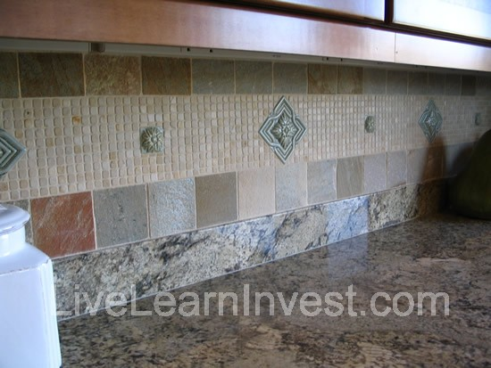 granite countertops kitchen tile backsplashes live learn deep rich colors makeover marseille collection