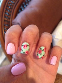 Vintage Rose Nail Art Tutorial | Beauty Blog