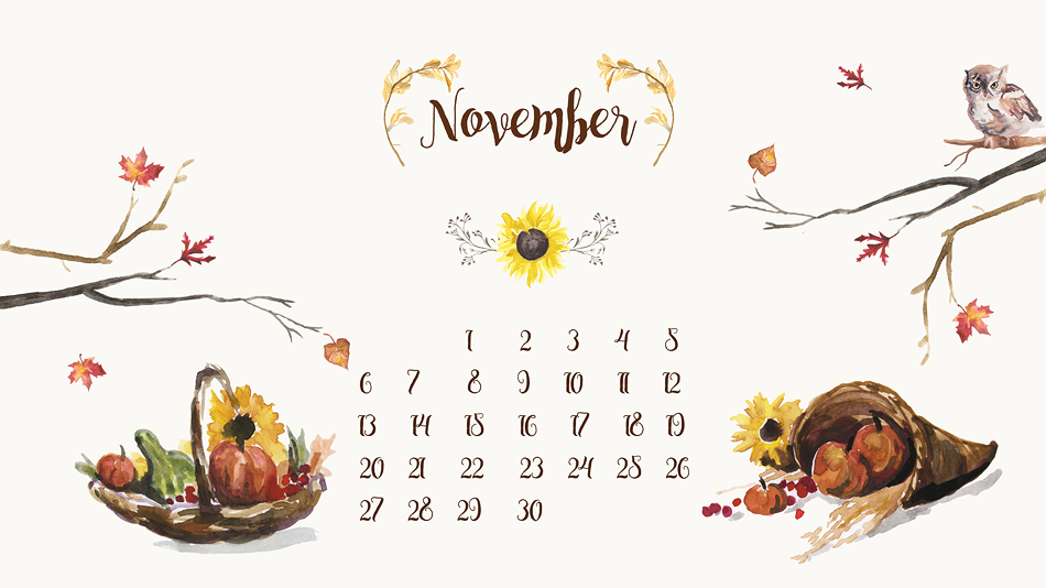 Free Desktop Calendar Background   November \u2013 Live, Love, Simple