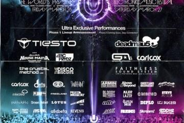 ultra festival flier