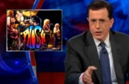 stephen colbert on phish getting back together