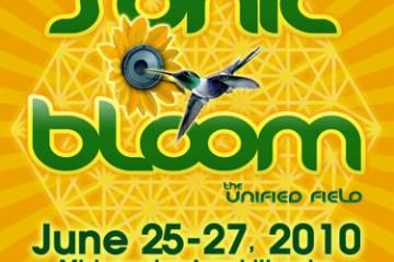 sonic bloom 2010 logo