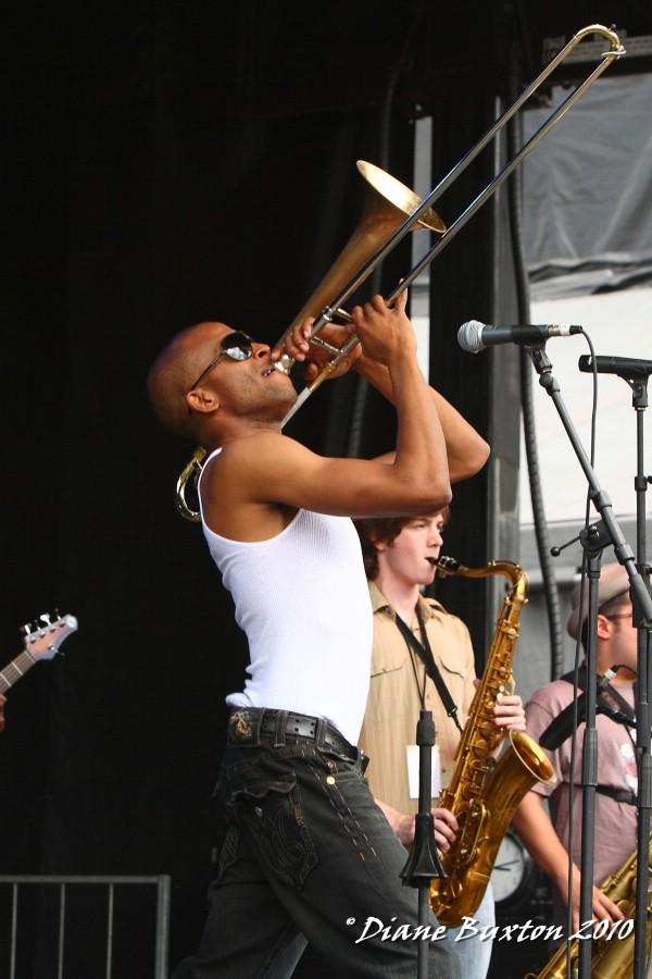 Trombone Shorty @ Mountain Jam 2010