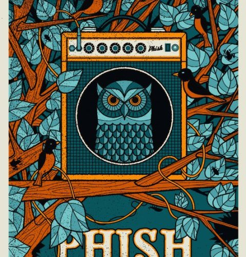 phish hartford 2010 poster