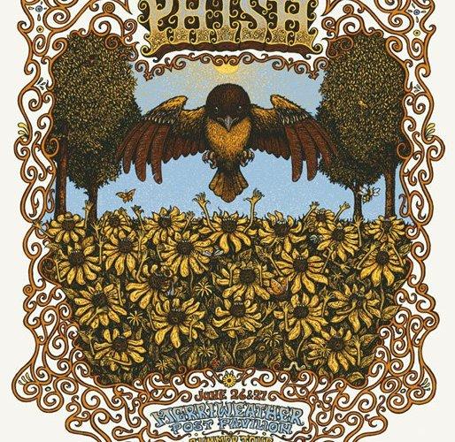 phish mpp 2010 poster