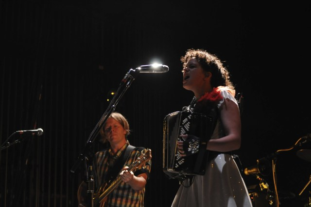 Arcade Fire @ Mann Center for Performing Arts, Philly 8/2/10