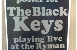 black keys ryman