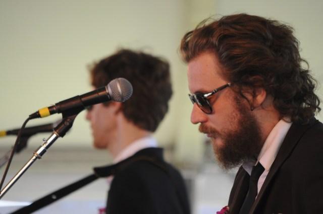 Yim Yames with Ben Soilee and Daniel Martin Moore @ Newport Folk 2010