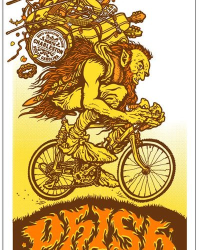 phish in SC poster