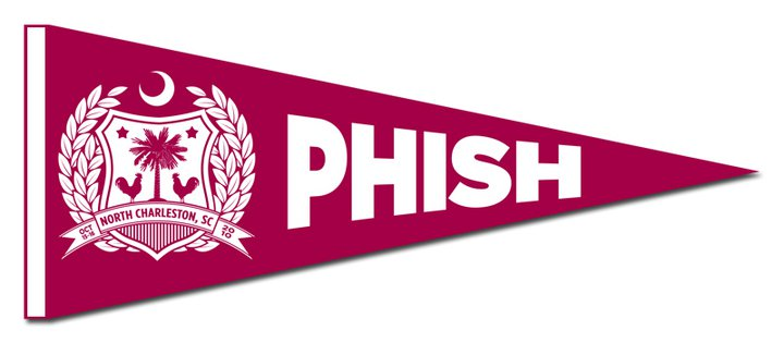 phish north charleston penant