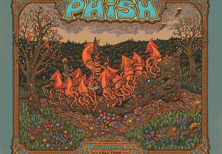 phish providence poster