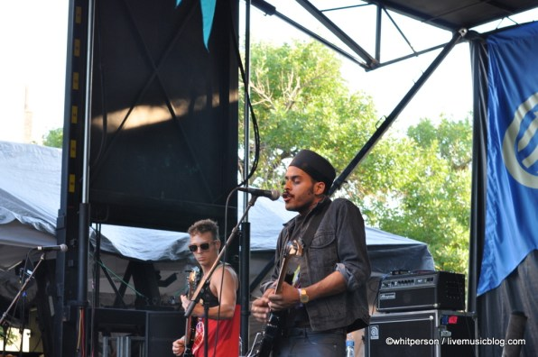 Twin Shadow @ Pitchfork Music Festival 2011