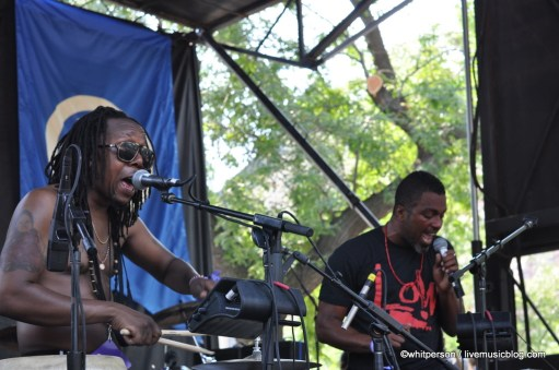 Shabazz Palaces @ Pitchfork Music Festival 2011