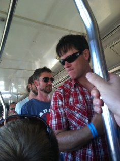 Bus ride to the venue (Phish Gorge 2011)