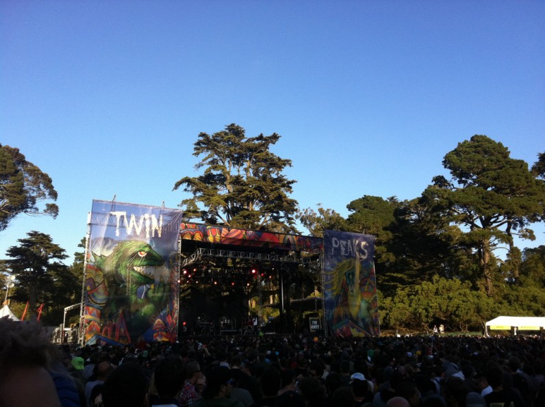 Twin Peaks stage @ Outside Lands 2011