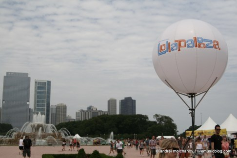 Lollapaloza 2011, Day One