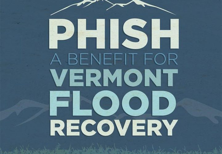 phish benefit flood recovery