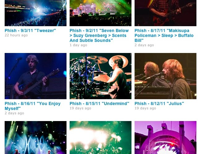 phish on vimeo