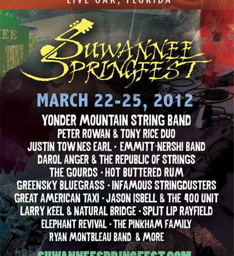suwannee springfest 2012 poster