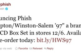 phish hampton winston salem