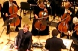 trey with new york philharmonic