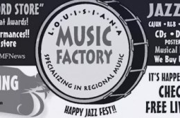 louisana music factory