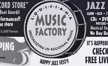 louisana music factory