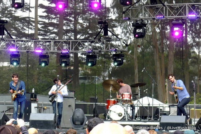White Denim @ Outside Lands 2012 || Photo © Katie Davies
