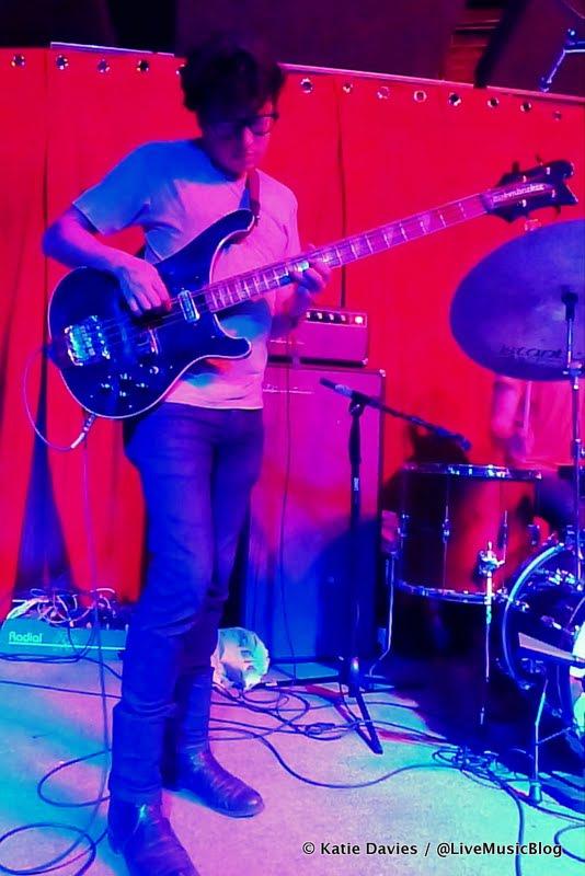 White Denim @ Brick & Mortar Music Hall - 8/10/12    Photo © Katie Davies