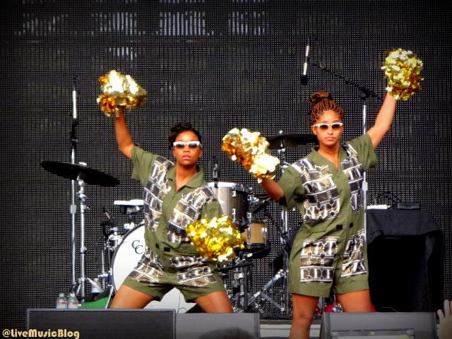 Santigold Cheerleaders @ Outside Lands 2012 || Photo © Wesley Hodges