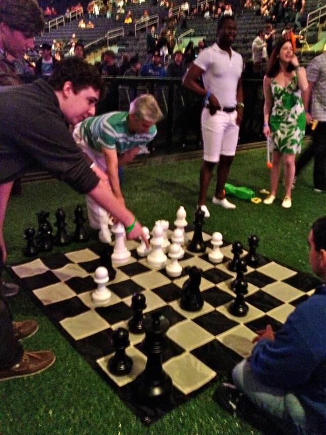 Pre-show Chess, 12/31/12