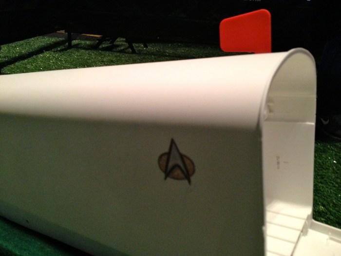 Riker's Mailbox Hole