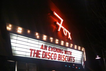 disco biscuits fox theatre last minute show