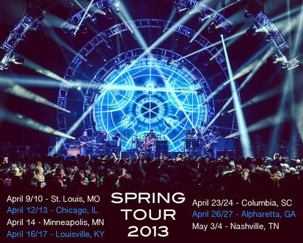 widespread panic spring tour