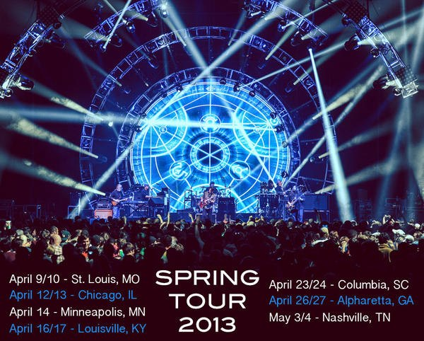 widespread panic spring tour