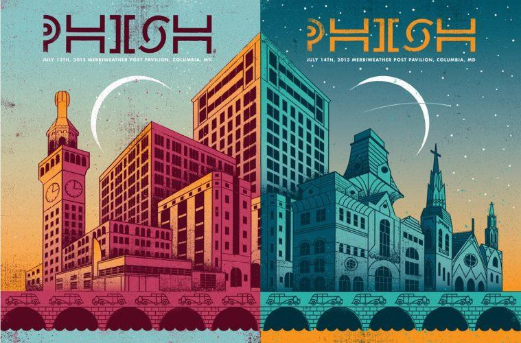 phish mpp poster 2013