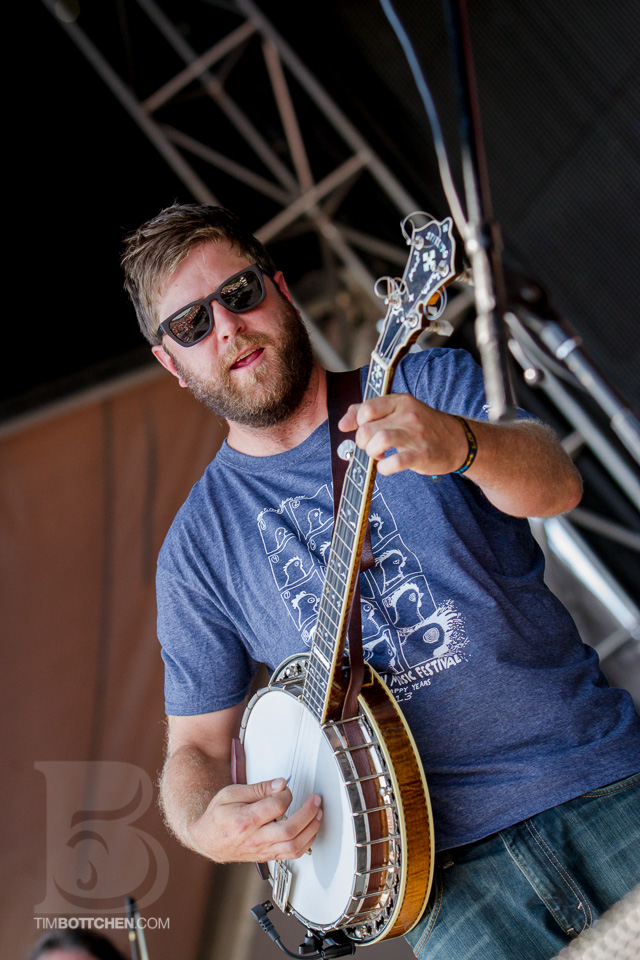 Dave Carroll of Trampled By Turtles
